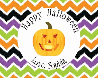 Halloween Party Favor Tags, Class Gifts, or Cupcake Toppers
