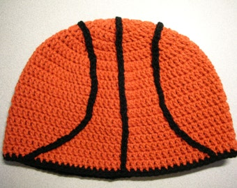 Basketball Crochet Hat