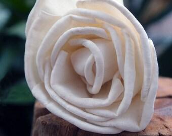 Sola Flowers - Sola Ruffled Rose - 12 pack - Sola Flower - Sola Roses- Weddings 6cm