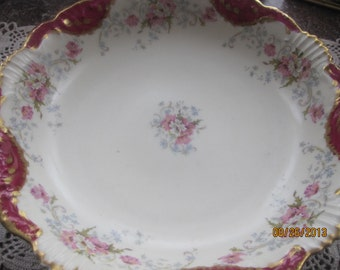 This Bowl IS GORGEOUS//  Antique//  French Limoges Bowl