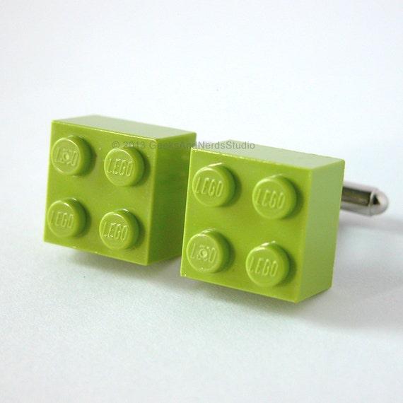 Lime Brick On Image : Made with lego bricks lime green brick by geeksandnerdsstudio
