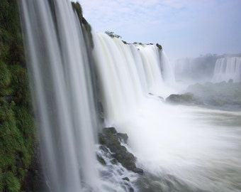Fine Art Print, Nature Photograph, Wall Decor, Waterfall, Nature Photograph, Iguazu Falls, Brazil