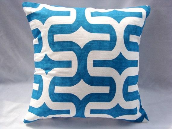 SALE 18x18 Premier Prints Embrace Aquarius Slub Throw Pillow Cover