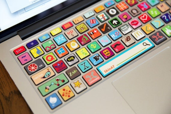 Macbook Apple Stickers Decal Apple Macbook Keyboard Decal
