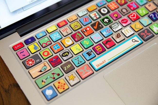 Apple macbook keyboard decal sticker macbook by ...
