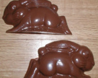 Running Bunny 3D Assembly Chocolate Mold