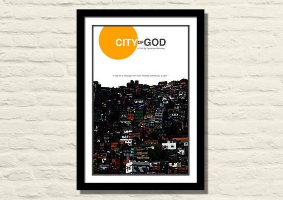City Of God Movie Poster Art Print 11 X 17 Modern Poster
