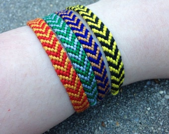 The Hogwarts House Friendship Bracelet Set