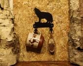 Wolf Decor Wall Hook