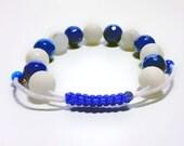 Agate & jade  bracelet