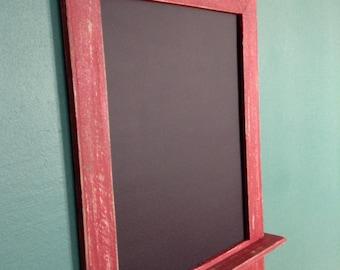 Handmade chalkboard rustic