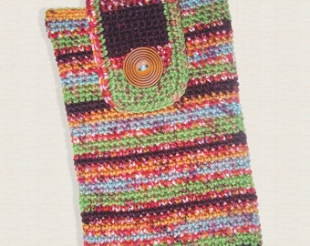 Crochet iPad Cover, Kindle DX Cover, iPad Cozy, iPad Sleeve, Kindle DX Sleeve, Electronic Case, Fashion Accessory, Multi Colored