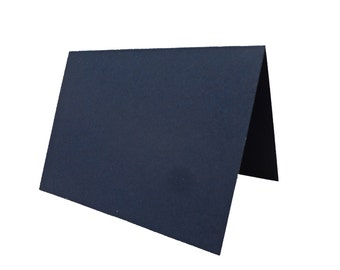 Blank Navy Place Cards 25 pack