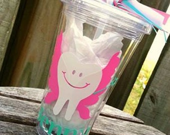 Dental Hygienist Tumbler; Tooth Fairy; Dental Hygienist Grad