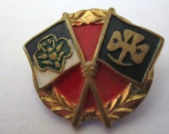 Vintage Girl Scout Friendship Pin circa 1956