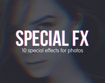 Special FX for Photos - Photoshop Actions