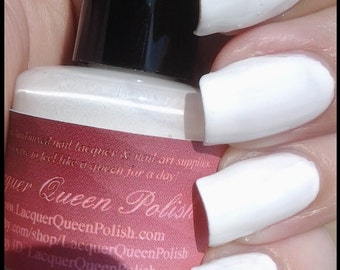 Snow White Base Coat Nail Polish
