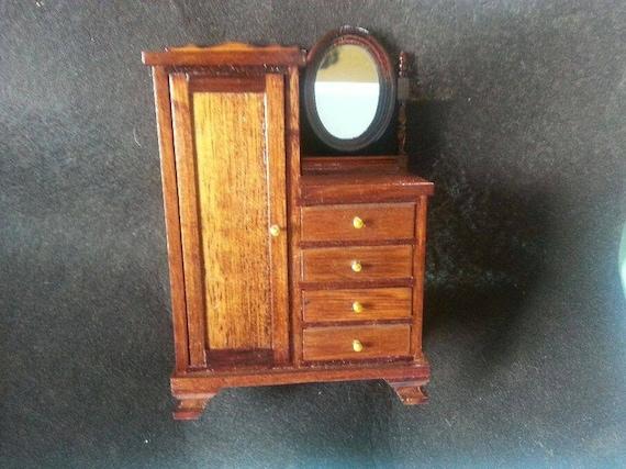 Sale Item 15 Off Vintage Doll House Furniture Chifferobe