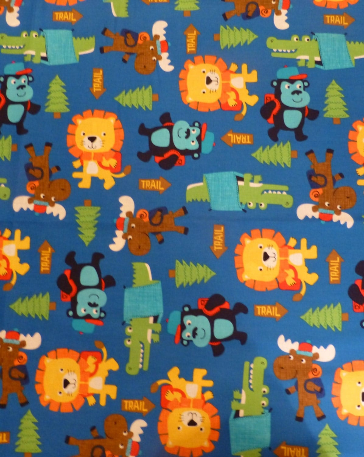 Children 39 s fabric by the yard timeless treasures soho for Cute childrens fabric