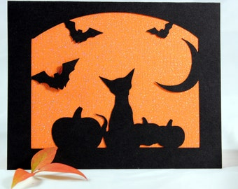 Note Card - Halloween View