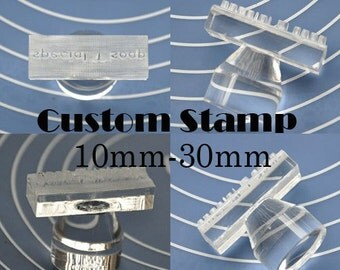 """Shop """"custom stamps"""" in Jewelry & Beading Supplies"""
