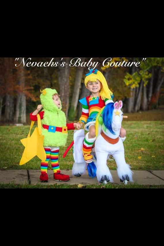 Rainbow Brite Costume Child Size Cosplay Quality Halloween Costume 80u0027s Vintage Costume : toddler rainbow brite costume  - Germanpascual.Com