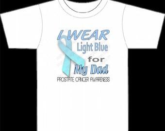 Prostate Cancer Awareness Logo for Dad PNG & JPG 300 dpi images for Personal Use Instant digital Download