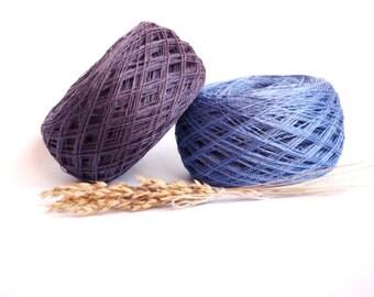 Linen Yarn, High Quality, Linen Yarn For Crochet, Knitting, 200 g/ 7 oz