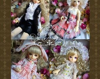 Chang Hsiu Mei's Doll Dress Pattern No.3(for BJD)