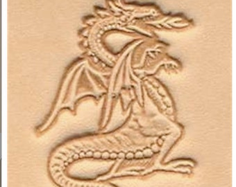 Fire Breathing Dragon - Leather Stamp Tool