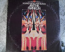 Aretha Franklin-Young, Gifted and Black Vinyl Record
