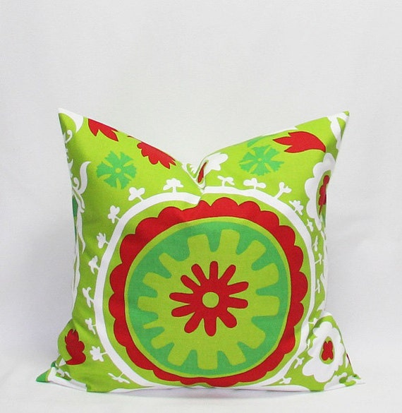 Green Pillows Christmas Pillow Covers 18 x 18