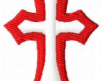 Cross Mini Embroidery Design