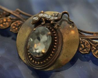 Vintage Ermani Bulatti Art Nouveau Brooch