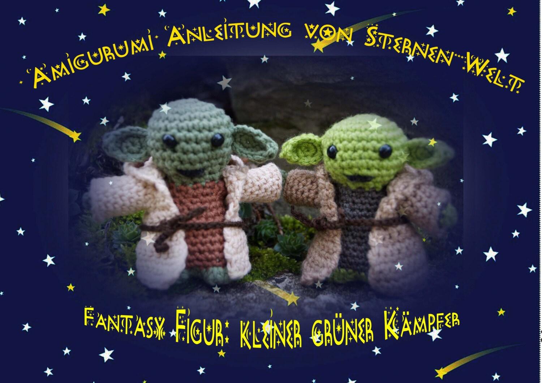 Anleitung Star Wars Amigurumi Yoda