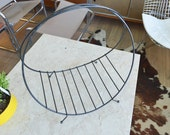 Vintage Mid Century Wire Magazine Holder