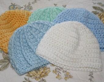 Newborn Crochet Beanies
