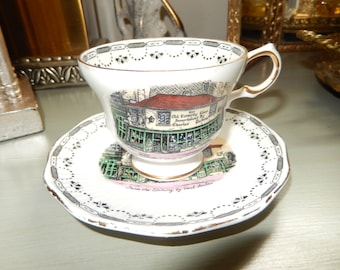 ENGLAND ROSINA TEACUP and Saucer