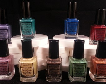 World of Warcraft Class Colors - Handmade Nail Lacquer - 0.50 Fl oz Bottle