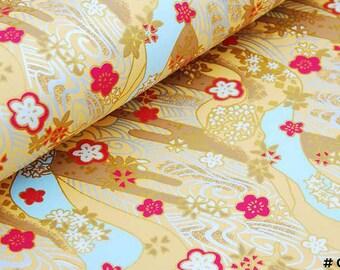 Japanese Chiyogami (Yuzen) Paper x 10 pcs ( 5 patterns & colors)