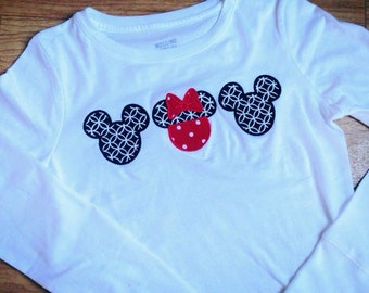 Adult Disney shirts- long sleeve