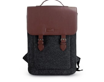 9617d423e9c5 Big promotion Felt Backpack for Macbook Pro 15