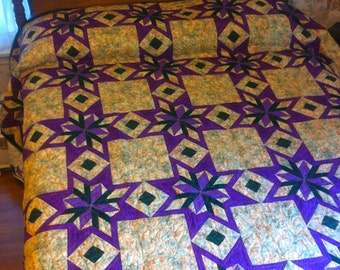 Essence of Mardi Gras Quilt