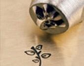 LEAFY TWIG Design ImpressArt Metal Stamp 6mm Jewelry Metal Stamping Leaf Design Stamp