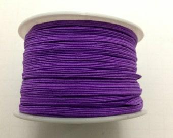 "1/8"" Skinny elastic Purple 5 yards-Baby Headband-Girl-Supplies-Craft-Sewing-Comercial-Toddler"