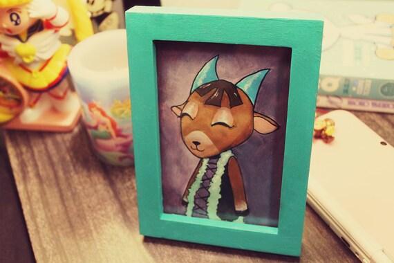 Animal Crossing CHOOSE YOUR VILLAGER Custom Framed