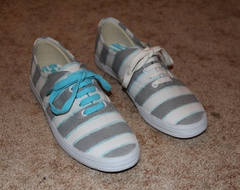 Striped with Highlight Custom Shoes