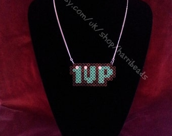 SALE Super Mario 1 UP Necklace