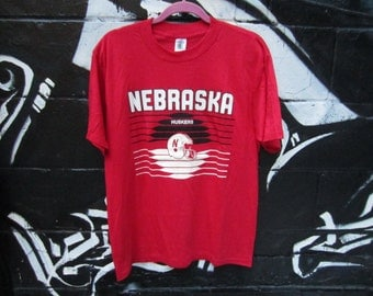 University of Nebraska Cornhuskers football tee / tshirt / short sleeve shirt