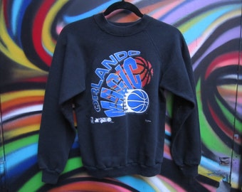 Orlando Magic NBA crewneck sweatshirt / pro basketball / youth